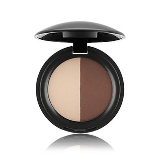 Eyeshadow Duo Ivory & Dark Brown