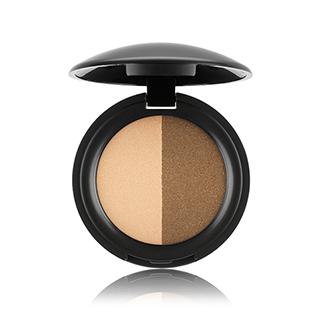 Eyeshadow Duo Golden Sun & Khaki